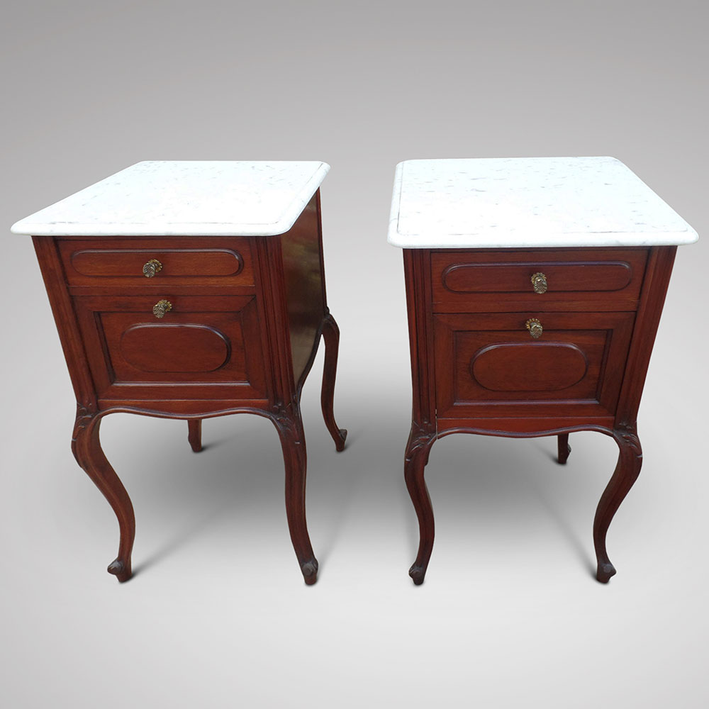 Small bedside cabinets mahogany for Very small bedside cabinets